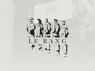 Le Rang - Concept store clothing shop logo identity concept store