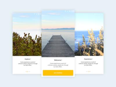 On Boarding - Travel App