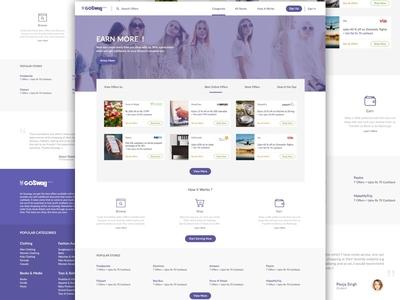 Homepage Layout