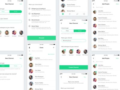 Team Messaging App
