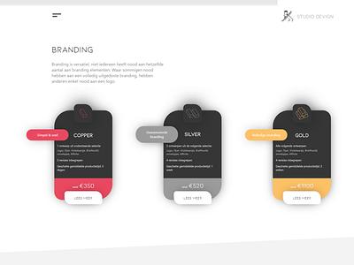 Studio Devign website screenshot wordpress design webdesign webdeveloper marketing branding ux ui