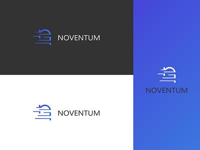 Noventum logo thrid iteration political campaign political party political marketing logo branding vector illustrator graphic design design