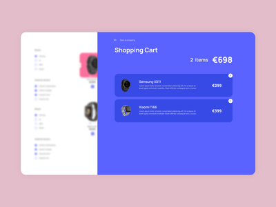 ecommerce UI exploration open shopping cart shopping cart webshop ecommerce adobe xd design adobe xd ux design ui design ux webdesign webdeveloper ui vector graphic design design
