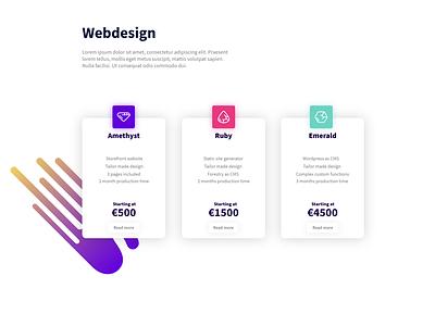 Personal website redesign concept cards adobe xd ux webdesign webdeveloper ui vector illustrator graphic design design