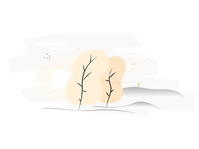Autumn comes illustration illustration vector illustrator graphic design design
