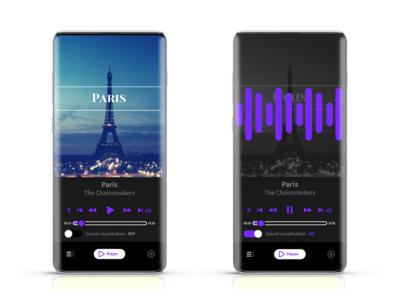 Music app conept 2