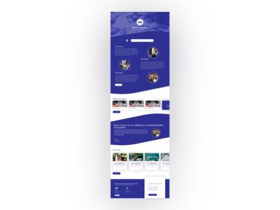 Hybrid Marketing homepage concept