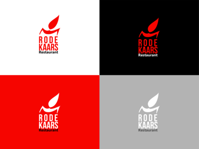 Logo Rode kaars (red candle) rebound