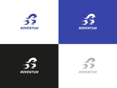 Noventum political party logo political party politics illustration branding blue logo vector graphic design design illustrator