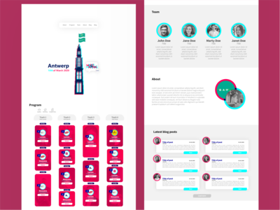 MarketHappening 2020 onepager concept