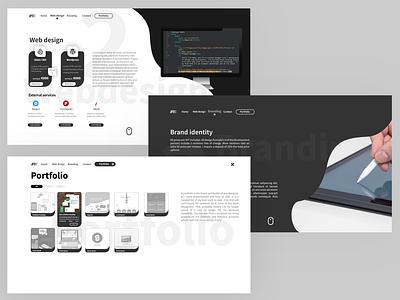 RVE personal website concept marketing ux webdesign webdeveloper ui branding vector graphic design design illustrator