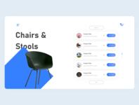 Furniture e-commerce site exploration