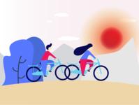 Flat illustration exploration