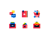 Icon Style Exploration for an E-commerce App