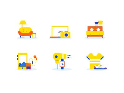 Category Icons- Big Billion Day Sale