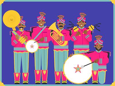 Rana Band Baaja people instruments indian wedding music