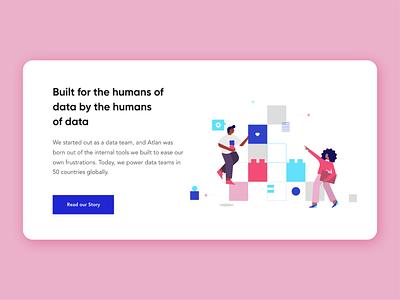 Atlan Building Blocks product data design home vector ui illustration