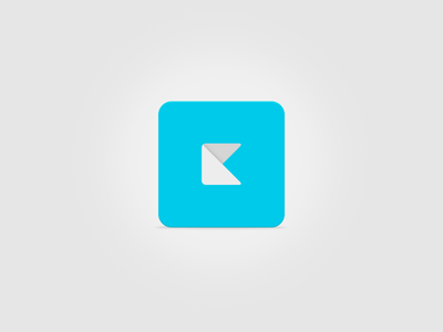 Icon icon touch apple touch icon kerem kerem.co logo design papercraft