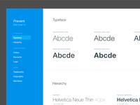 Typeface and hierarchy