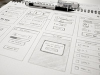 Wireframe for a new something