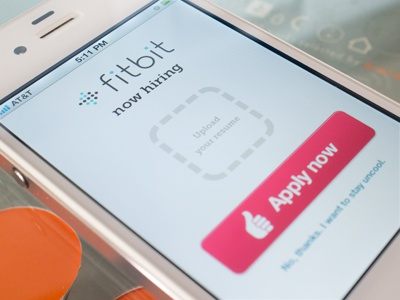 Fitbit is now hiring fitbit interactive designer job awesomeness