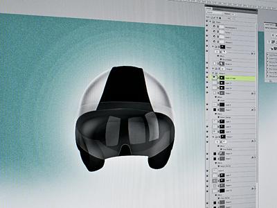 Helmet icon illustration helmet vespa piaggio