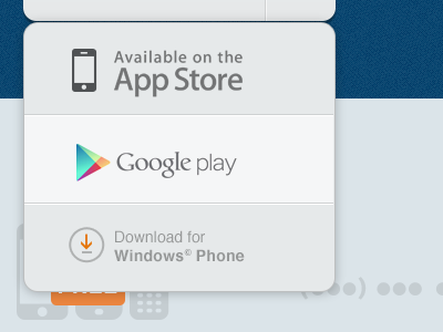Download dropdown ui ux web dropdown drop down app app store google play windows phone minimal