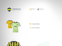 Fenerbahce jerseys redesigned