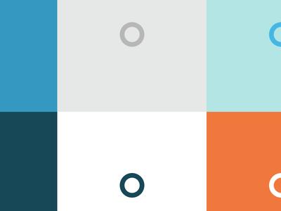 New Omada Health colors branding colors simple clean health diabetes minimal circle