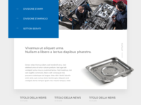Parolin Website - From concept to final version
