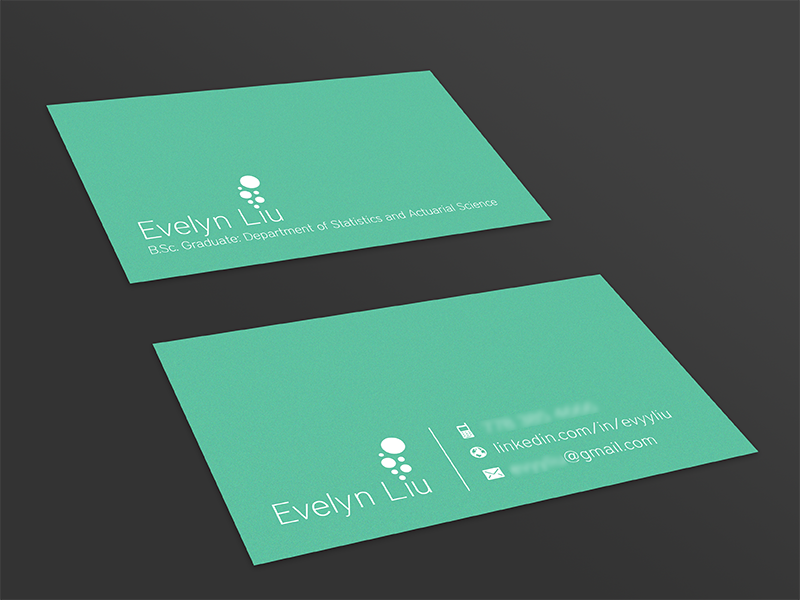 Teal Business Cards business cards teal personal bubbles print aldricht aldrich tan design simple minimal