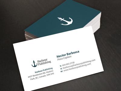 Harbour Publishing Business Cards