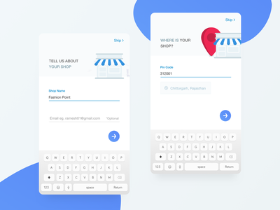 Seller Onboarding free ios icons minimalistic flat design illustrations onboarding