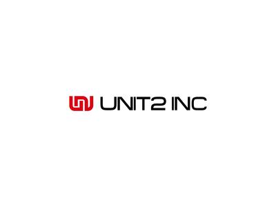 Unit2Inc Logo Animation icon app logo branding aftereffects 2d animation mark logos intro logotype animation motion logo design logo