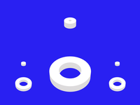 3D Circle Loop Animation after effect morphing loop circle motion loop motion 3d motion looping motiongraphics