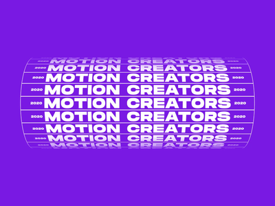 Motion Creators । Animated Typography animated type text animation animated gif motion animation kinetic motion art