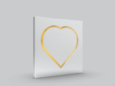 3D Heart Shape 3d modeling 3d love react 3d logo love react valentine 3d valentines day valentine 3d love love heart shape heart icon 3d heart