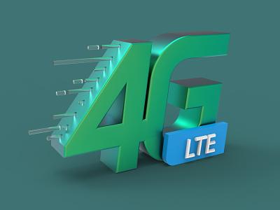 4G Network high speed 4g 3d 3d lte technology speed network gp 4g