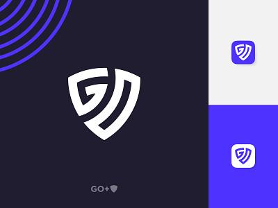 Go Lettermark Logo minimal go logo iconic logo apps icon branding ui logo