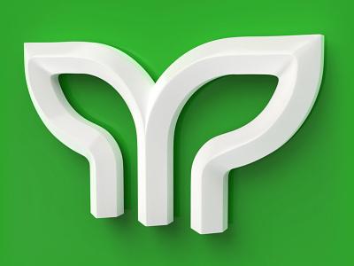 Maddhom 64 | 3D Logo design render 3drender 3dlogodesigner 3d logo from 2d maddhom 64 c4dlogo logo3d 3d modeling 2dto3d 3dlogodesign 3dlogo