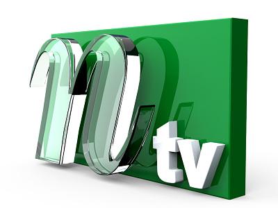 Ntv | 3D LOGO DESIGN FROM 2D 3d tv channel news logo tv logo 3d glass logo glass logo logo 3d modeling 3d logo design 3d logo