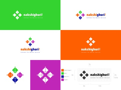 Logo for nakshighuri.com, a tours and events agency kites event agency travel agency tour and travel agency kite kite logo ghuri nakshi nakshighuri