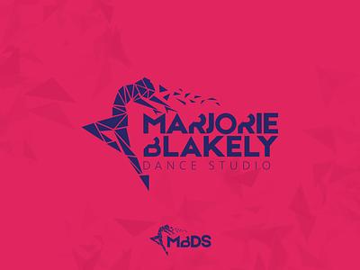 MBDS Unused Logo organic dancer graphic brand branding branding design logo graphic design studio dance