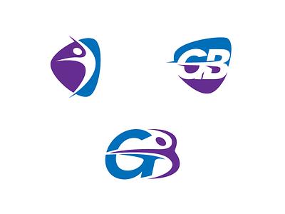 Internship Logo Work #3 internship organic dance branding logo gymnastics