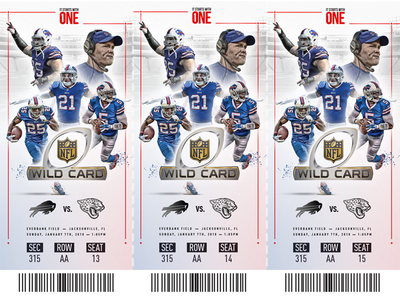 Buffalo Bills Playoff Ticket