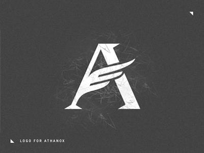 Logo for Athanox design logo branding athanox
