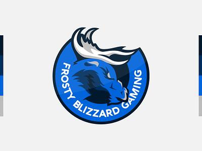 Frosty Blizzard Gaming - Twitch Logo freelancer freelancing business twitch branding design branding redesign redesign logo redesign logo design branding logo