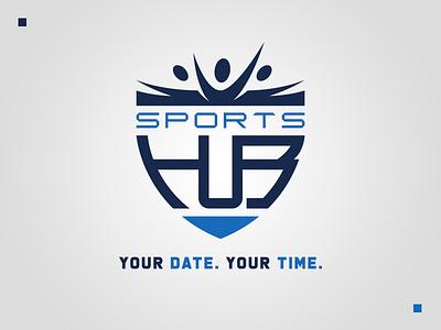 Sports HuB Logo redesign graphic freelancing sports design logo redesign logo design branding redesign sports graphic design freelancer design branding design logo branding