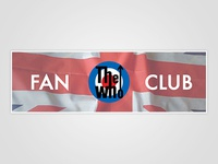 The Who Fan Club Banner