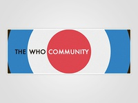 The Who Community Banner